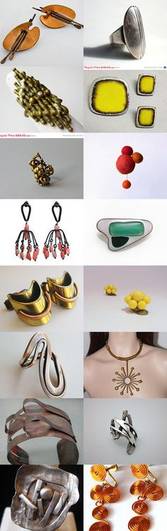 Mid century Inspiration by Cristina Maggiora on Etsy--Pinned with TreasuryPin.com  #Etsy #Modernist