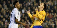 Valencia vs Barcelona: Gol Santi Mina Buyarkan Harapan Tiga Angka Blaugrana