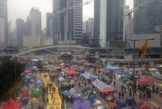 Hong Kong protest camps: Who is still on the streets?