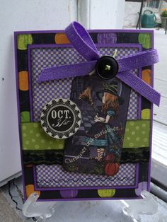 Oct 31st - Scrapbook.com - #scrapbooking #cardmaking #graphic45