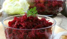Šalát z červenej repy Cabbage, Vegetables, Food, Essen, Cabbages, Vegetable Recipes, Meals, Yemek, Brussels Sprouts