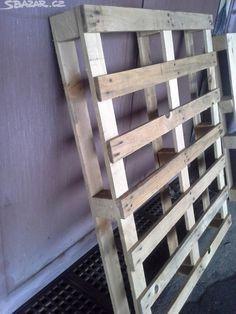 Prodám dřevěné palety. Dva druhy: plná plocha - obrázek číslo 3