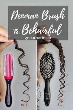 Denman Brush vs. Behairful Brush Compared