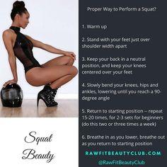 Proper Way to Perform a Squat