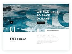 Website Animation: Save the Oceans scroll interaction website charity ocean environment motion animation ux ui web design Web Design Projects, Web Design Trends, Ux Design, Page Design, Blog Design, Website Design Inspiration, Best Website Design, Pag Web, Web Design Quotes