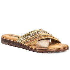 8e1a9b2e940c GC Shoes Ari Womens Slide Sandals Slide Sandals