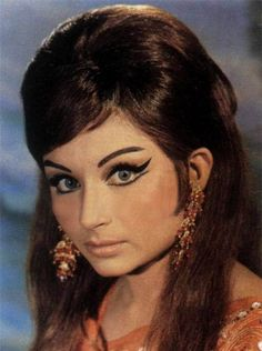 Sharmila Amazing eye makeup of Bollywood.