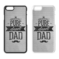 Father's Day Printed Hard Plastic iPhone Phone Case 07