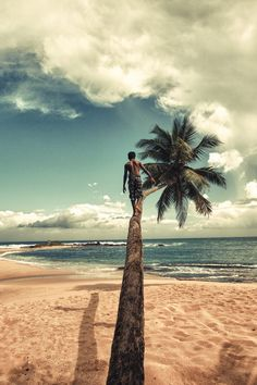 Gorgeous pic on the beach. This I can climb..