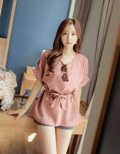 Imagen de asian fashion, blouse, and kfashion