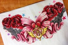 Sailor Moon Sternum Design