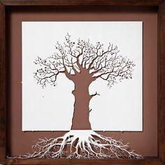 Simple,earthy, beautiful tree.