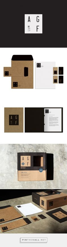 AGF Brasil Branding by Pedro Paulino | Fivestar Branding Agency – Design and Branding Agency & Curated Inspiration Gallery