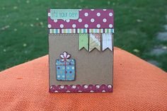 Shari's Scrapbook: Simple Stories Birthday Cards and a Mini Album
