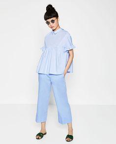 Image 1 of FULL TOP from Zara