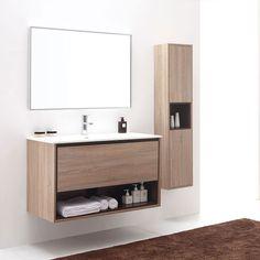 BelBagno Bathroom Vanity Anc Silver Oak Vanity Units For Sale - Bathroom vanity showroom los angeles