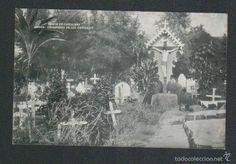 Postales: Islas Carolinas.Saipan.Misión de Carolinas.Cementerio de los católicos.Postal.Post-card. - Foto 1 - 59529299