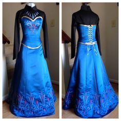 Elsa's coronation dress. I need to know where they found this! it actually looks real!