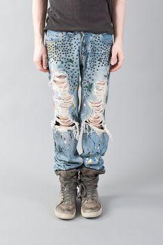 Number (n)ine Jeans $700usd.