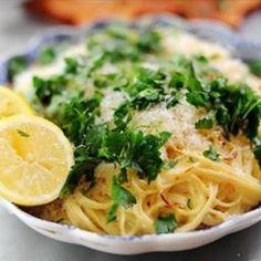 - Baked Lemon Pasta