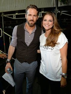 Ryan Reynolds and HRH Princess Madeleine of Sweden attend the 2014 Global Citizen Festival to end extreme poverty by 2030 at Central Park on 27.09.2014 in New York City.