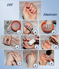 ThatBeautySecret: Mani-Monday: DIY Maniküre The post ThatBeautySecret: Mani-Monday: DIY Maniküre appeared first on . Fall Pedicure, Pedicure At Home, Pedicure Spa, Nails At Home, How To Do Manicure, Manicure Steps, Manicure And Pedicure, Diy Nails, Nail Care Routine
