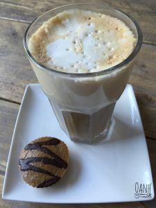 Latte Macchiato, Wheat Belly, Healthy Recipes, Healthy Food, Paleo, Low Carb, Pudding, Coffee, Desserts