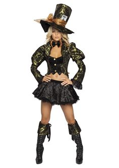 Tea Party Tease Womens Deluxe Costume, $99.99 - The Costume Land