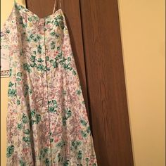 I just added this to my closet on Poshmark: Lauren Conrad floral sun dress....  Size: 16