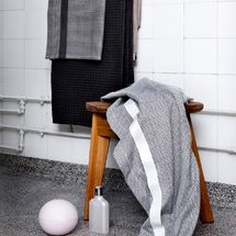 Towel in Organic Cotton, from The Organic Company. Organic Company, Danish Design, Towel, Organic Cotton, Challenge, Paris, Boutique, Bathroom, Fashion