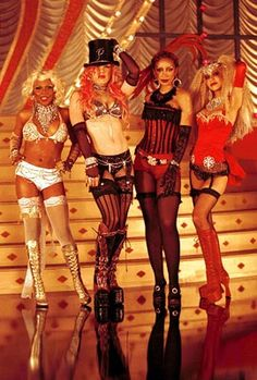 Christina Aguilera, Lil' Kim, Mya & P!nk won the award for Video of the Year and the award for Best Video From A Film for their song Lady Marmalade (Moulin Rouge) at the VMA's 2001.