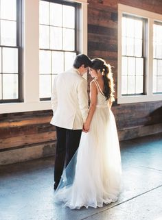 Wedding Inspiration in an Industrial Setting