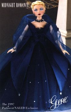 Gene Midnight Romance Dressed Doll 1997 by Timothy Alberts for Parkwest/NALED Exclusive Circa 1954 Original Price $89.95