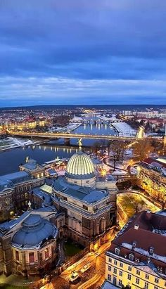 Dresden, Saxony, Germany A beautiful city day and night
