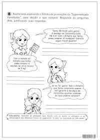 SOSPROFESSOR-ATIVIDADES: Fazendo compras
