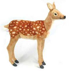 Hansa 3433Deer Large Bambi Standing Plush Stuffed Animal