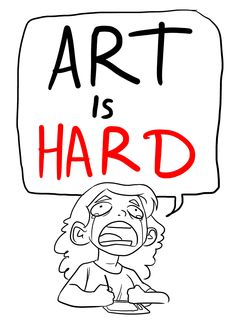 "I am an artist, my final for art appreciation is an art project and its of my I feel like Hiro ""no ideas, stupid useless brain"" Art Memes, Art Quotes, 4 Panel Life, Artist Problems, Struggle Is Real, You Draw, Artist Life, Make Art, Story Of My Life"