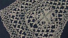 Antique Vtg 1900s MALTESE BOBBIN Lace SILK Collar