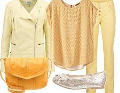 Un look acidulé  ! Hot or not ?  A retrouver ici : http://stylefru.it/s475690 #jaune #citron #look