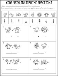 These engaging math activities are perfect for no-prep math centers or independent math practice. Math Test, 5th Grade Math, Math Resources, Math Activities, Order Of Operations, Math Practices, Guided Math, Common Core Math, 5th Grades