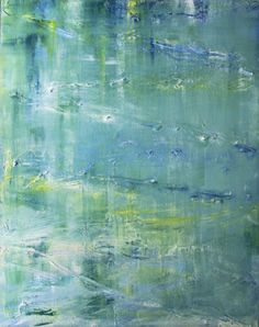 Impressionistic Modern Abstract Giclee STRETCHED par LoriMarie