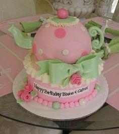 Teapot Cake (for Treasure's 5th)