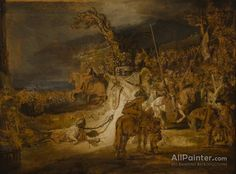 Rembrandt Van Rijn The Concert Of The State oil painting reproductions for sale