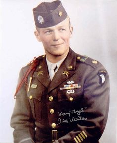 Major Richard Winters  Easy Company 506th PIR  101st Airborne Division.