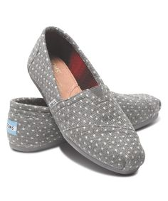 Another great find on #zulily! TOMS Gray Dot Classics by TOMS #zulilyfinds