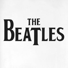 The Beatles Logo Door Room Wall Sticker Cut It Out Wall Stickers Colour: Black