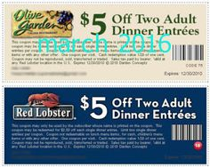 Olive Garden Coupons Ends of Coupon Promo Codes MAY 2020 ! Garden the of with known so experience website, italy. the they presentabl. Lobster Dinner, Red Lobster, Olive Garden Coupons, Coupons For Boyfriend, Free Printable Coupons, Love Coupons, Dinner Entrees, Olive Gardens, Grocery Coupons