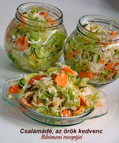 Chalamade, den eviga favoritingrediensen: ca. Croatian Recipes, Hungarian Recipes, Hungarian Cuisine, Cooking Recipes, Healthy Recipes, Recipes From Heaven, Summer Salads, Food Inspiration, Salad Recipes
