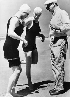 Marilyn, Jack Lemmon and Billy Wilder