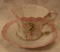 R S Prussia Cup and Saucer